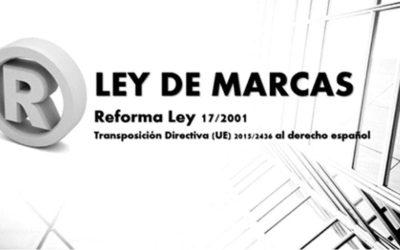 Principales novedades de la reforma de la Ley de Marcas 19/2001 introducidas por el Real Decreto Ley 23/2018